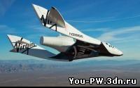 Космоплан Virgin Galactic совершил одиночный полет